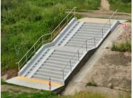 Malowanie betonu na zewnątrz - Dampshield Q124 + P101
