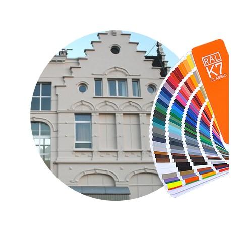 Farba fasadowa Mur Acryl - kolory RAL z mieszalnika