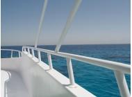 Jacht pomalowany farbą Teamac Marine Gloss