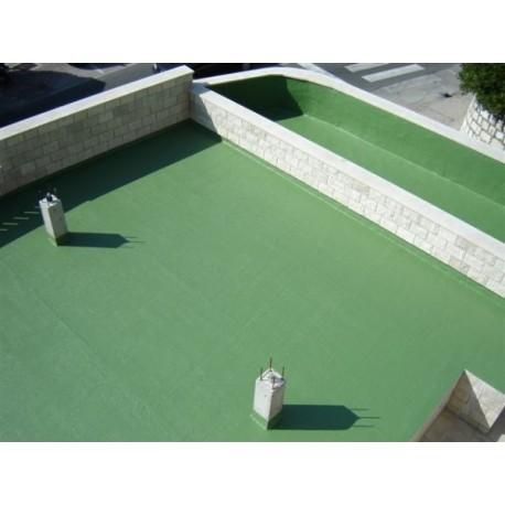 Pokrycia dachowe bezspoinowe - Elastodeck - zabezpieczenie dachów, balkonów i tarasów