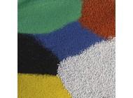 Piasek kwarcowy w kolorach
