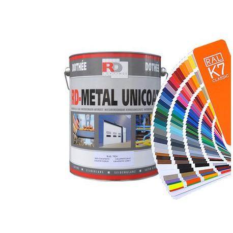 Farba antykorozyjna Metal Unicoat  - kolory RAL z mieszalnika