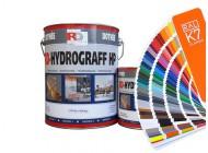 Hydrograff HP - kolory RAL z mieszalnika