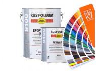 Farba epoksydowa Rust-Oleum 9100 - kolory RAL z mieszalnika