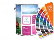 Matowa farba do wnętrz Deco Acryl - kolory RAL z mieszalnika