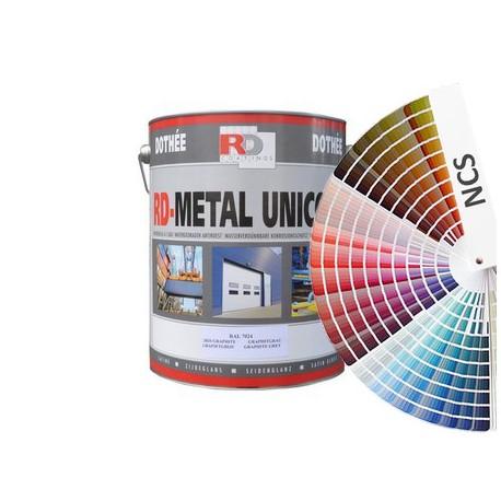 Metal Unicoat - kolory NCS z mieszalnika