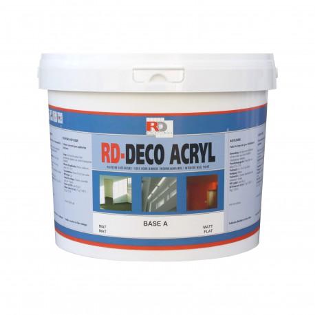 Satynowa farba do wnętrz Deco Acryl - kolory RAL z mieszalnika