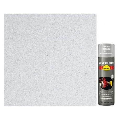 Spray metaliczny - aluminium, stal nierdzewna - Hard Hat