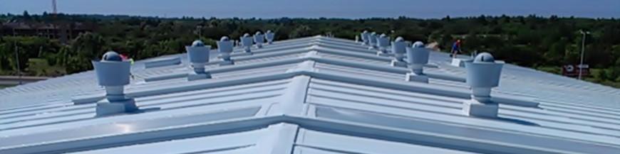 Ochrona dachów metalowych